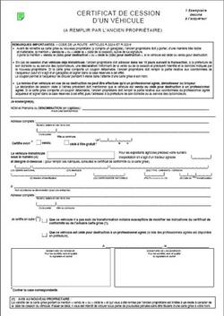 TÉLÉCHARGER CERTIFICAT DE CESSION DE VÉHICULE VIERGE