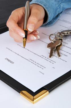Signer un avant contrat