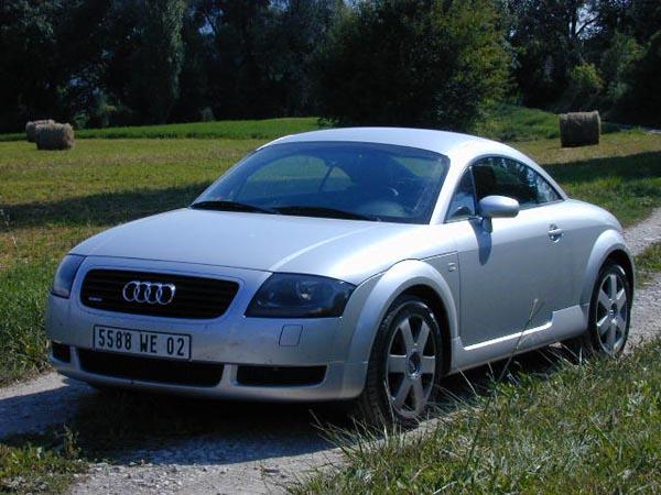 Essai Audi TT Quattro 1999