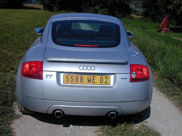 Essai Audi TT Quattro 1999 (2)