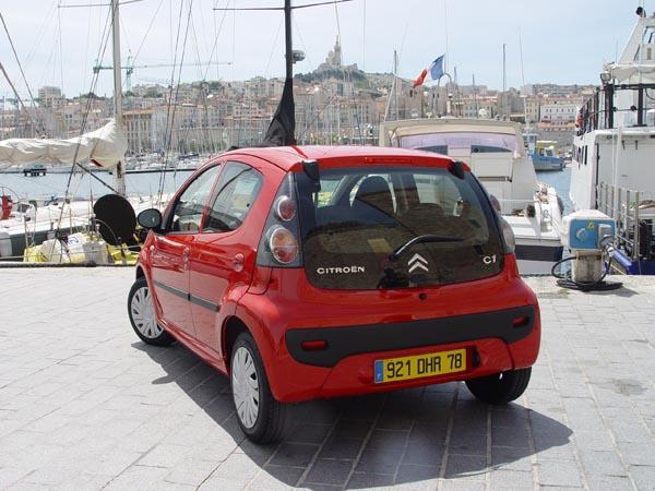 Essai Citroën C1 2005 (1)