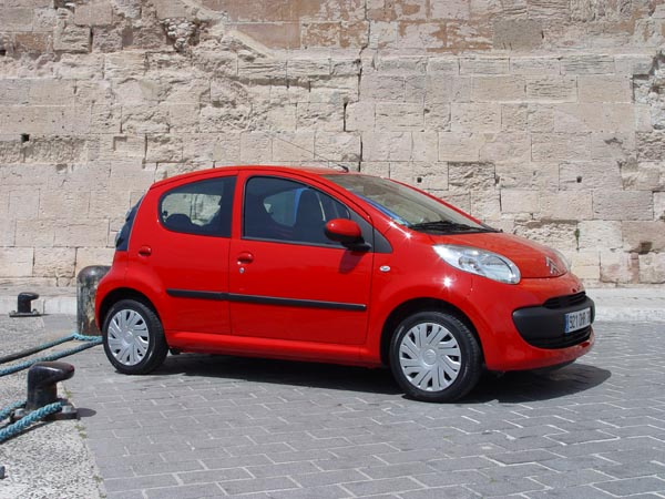 Essai Citroën C1 2005 (4)