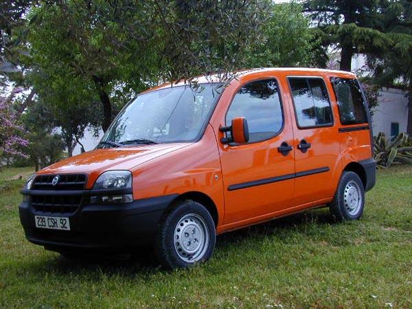 Essai Fiat Doblo 1.2 ELX 2001 (1)