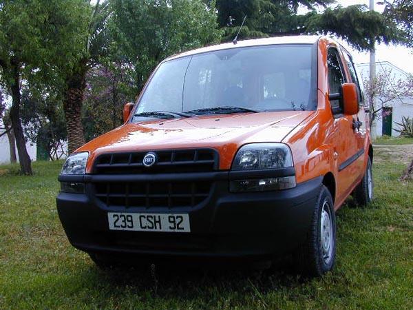 Essai Fiat Doblo 1.2 ELX 2001 (2)