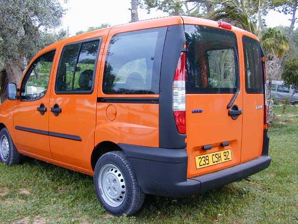 Essai Fiat Doblo 1.2 ELX 2001 (3)