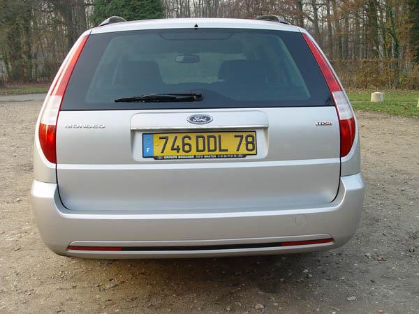 Essai Ford Mondeo 2.2 TDCi Titanium 2004 (4)