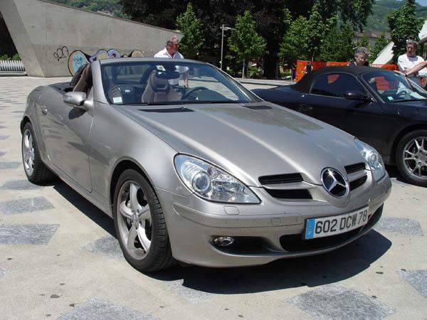 mercedes slk 350 2005