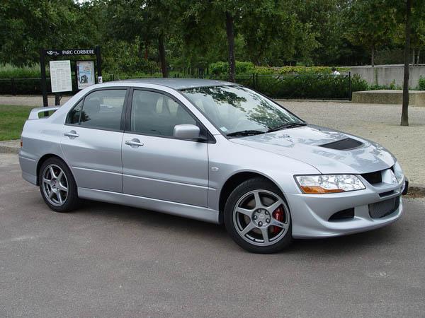 Essai Mitsubishi Lancer Evolution VIII 2004
