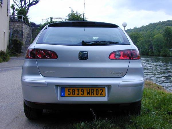 Essai Seat Ibiza 1.9 TDI 100 ch Sport 2002 (3)