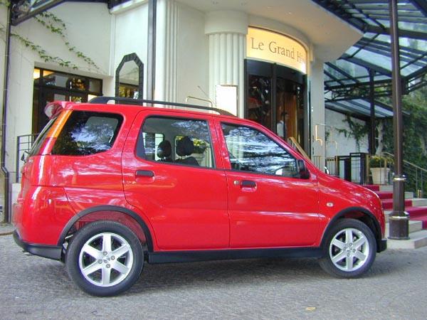 Essai Suzuki Ignis 2004