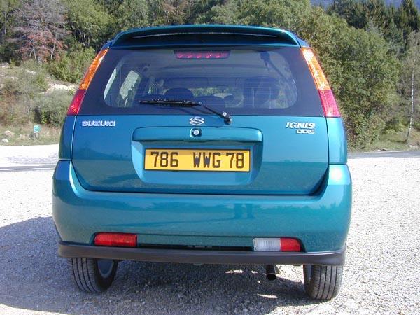 Essai Suzuki Ignis 2004 (3)