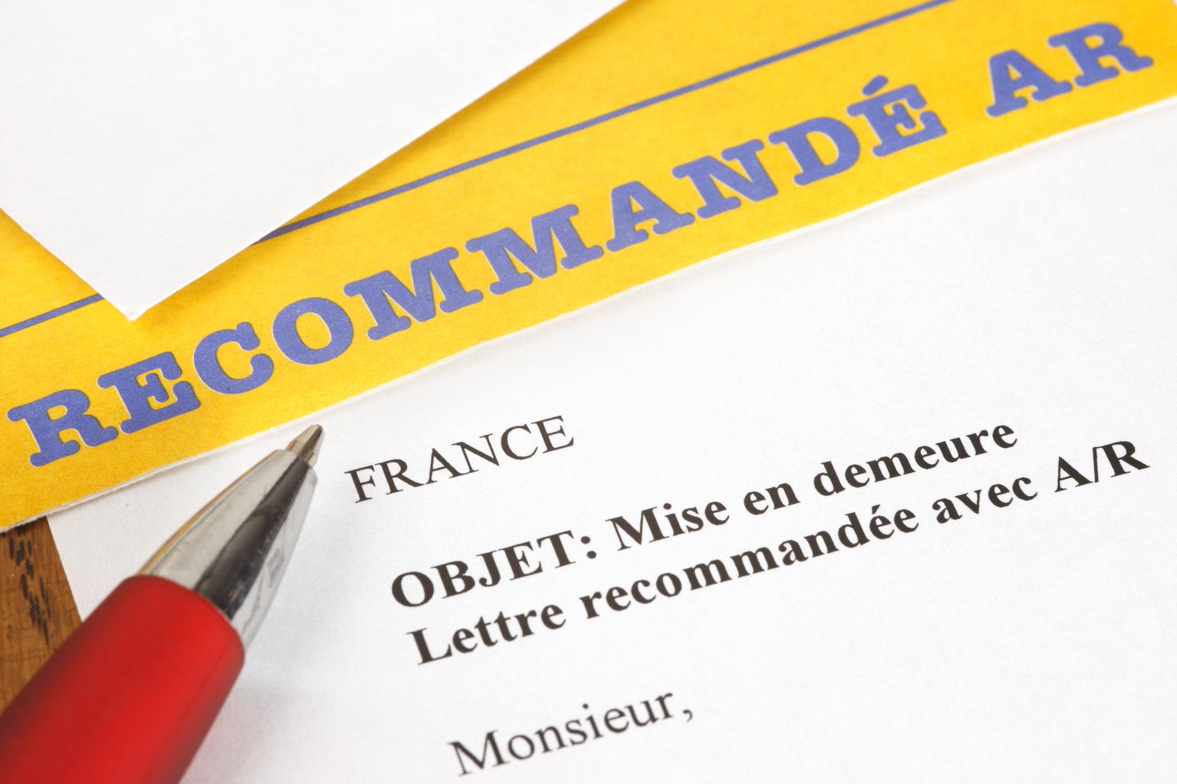 Lettres Types Le Non Paiement Du Loyer