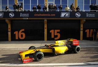 F1 - c'est officiel