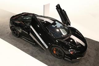 McLaren introduit la voiture expérimentale