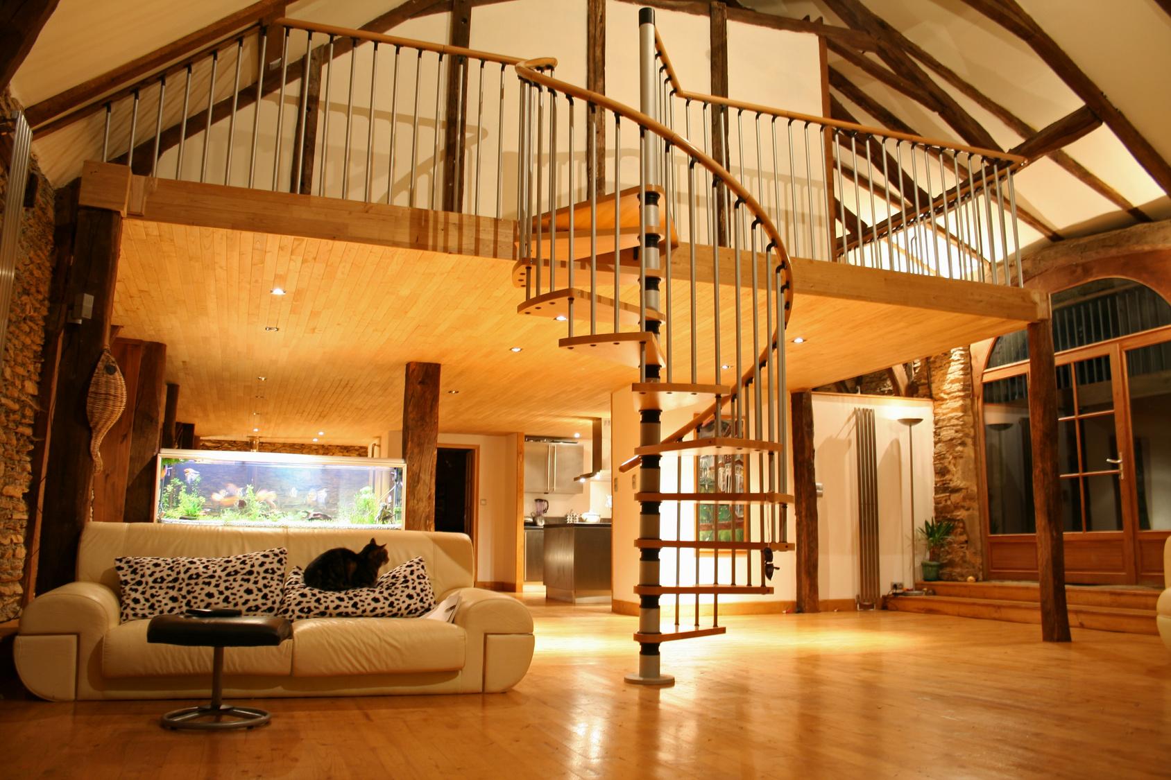 escalier mezzanine - Mezzanine Sur Mesure
