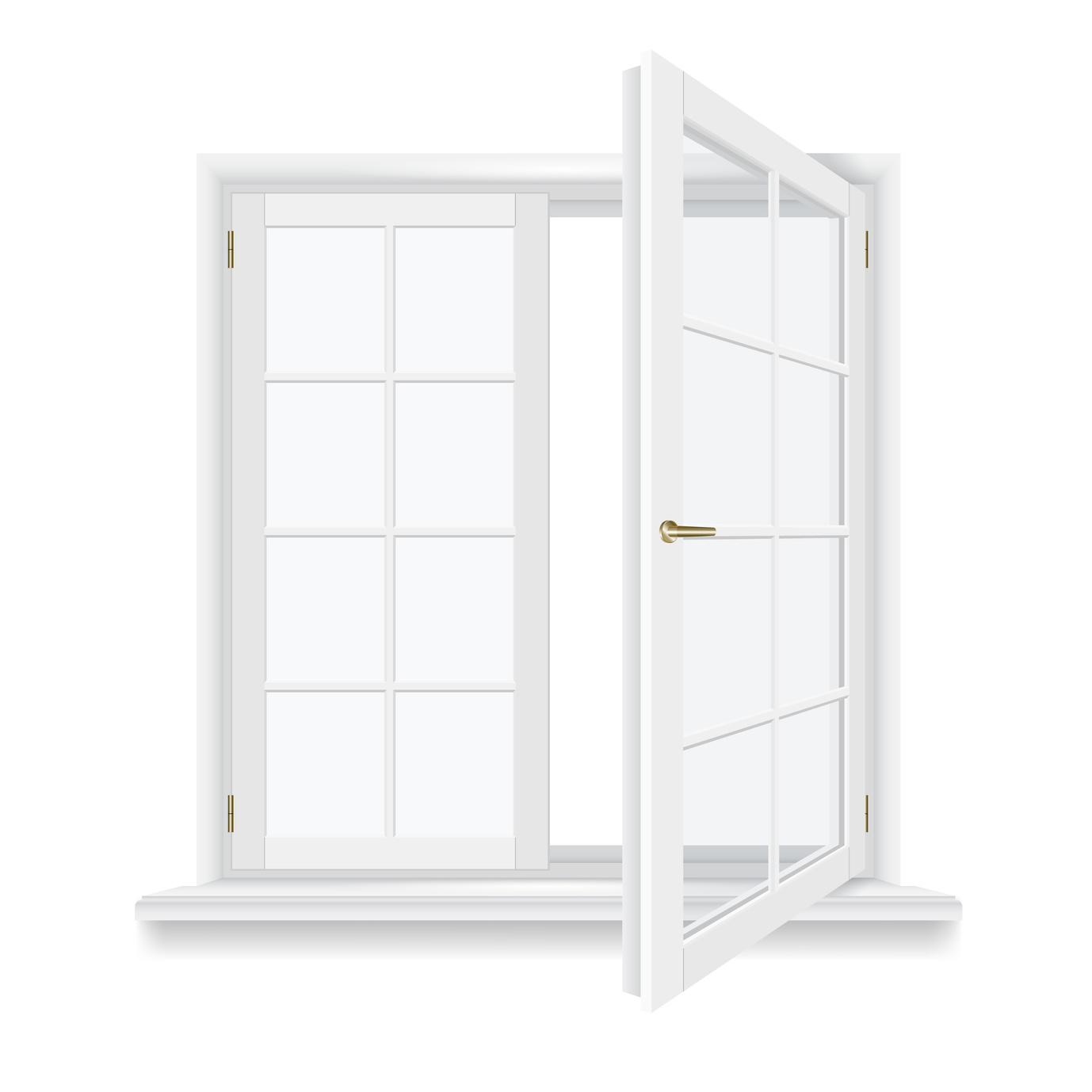 Fenêtre à la française