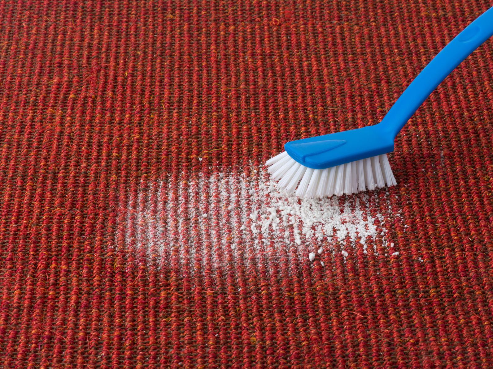 Nettoyage moquette bicarbonate