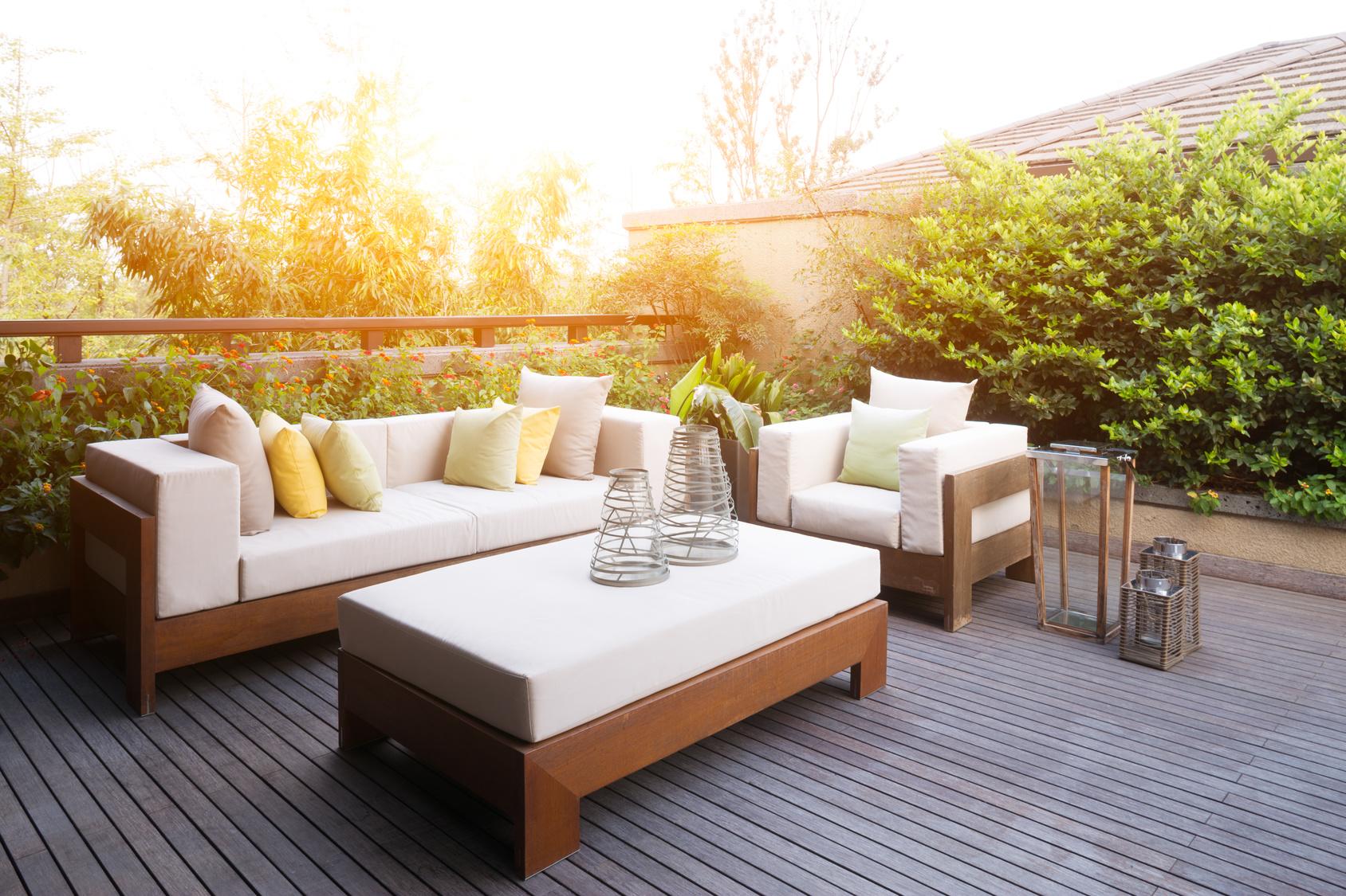 Terrasse En Palette Duree De Vie terrasse : des revêtements adaptés