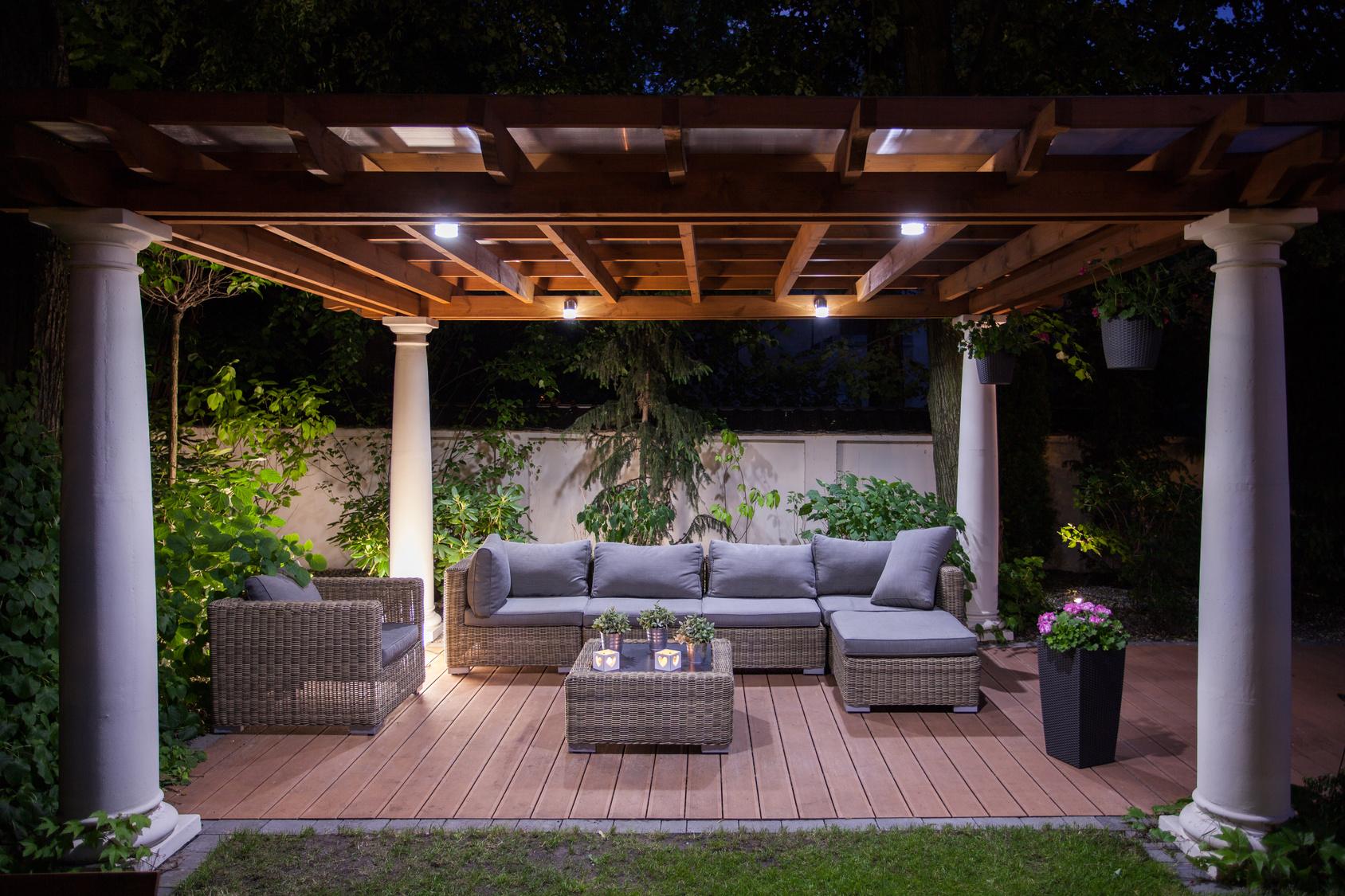 Eclairage De Terrasse Exterieur profiter de sa terrasse en automne