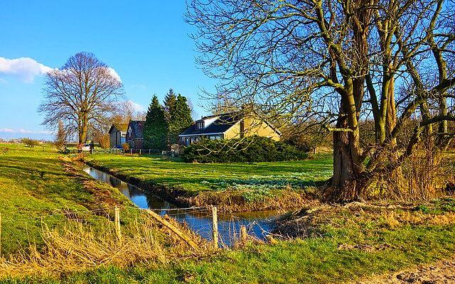 maisons à la campagne