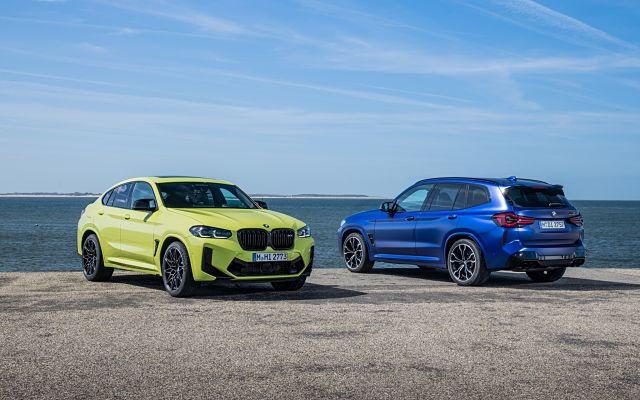 BMW X3 M et X4 M Competition