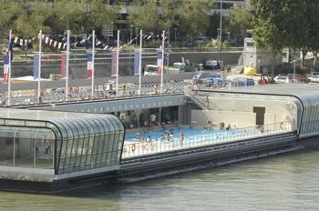 Guide de piscines plein air paris for Piscine 50m paris