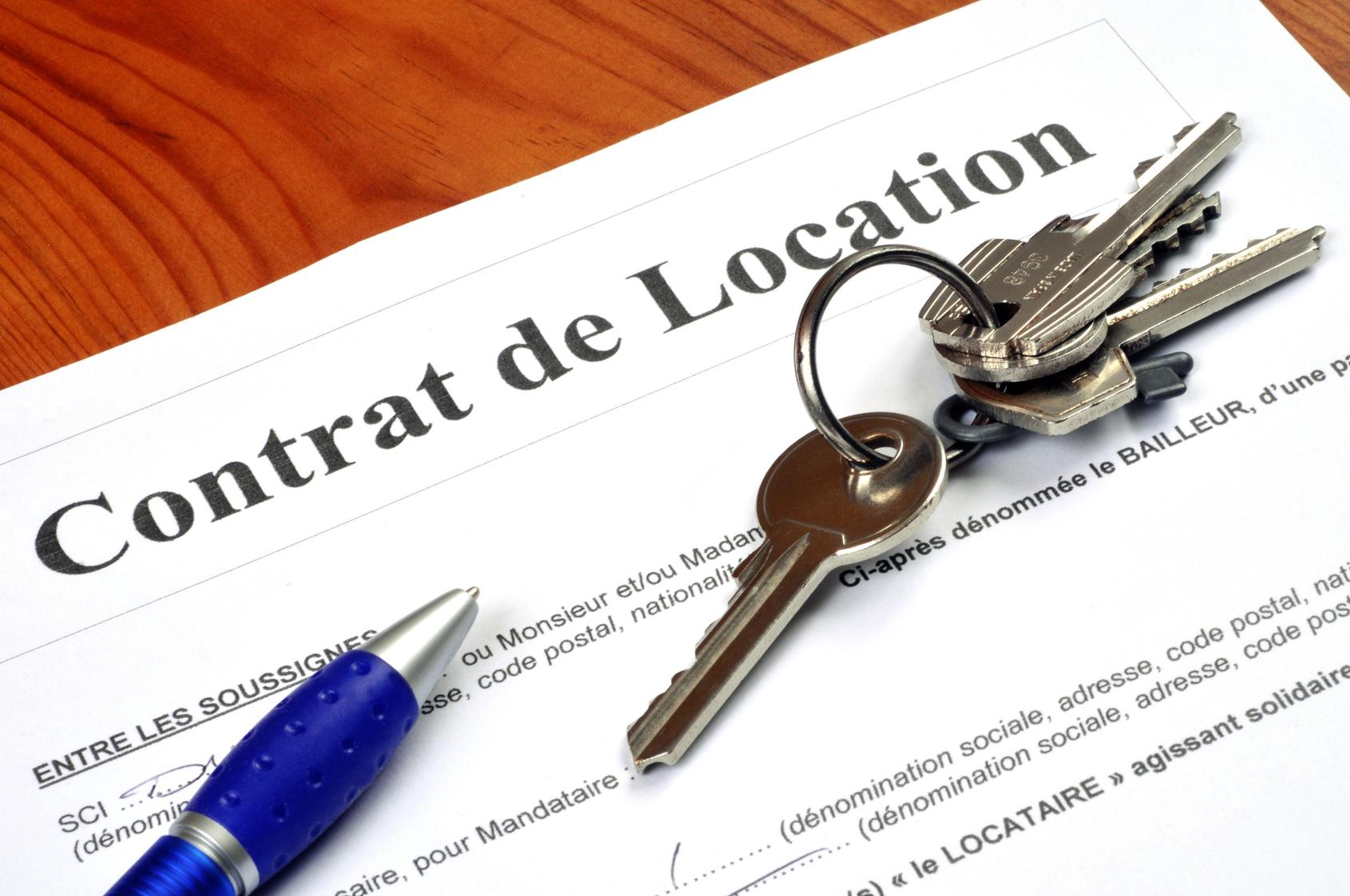 Mod le de contrat de location - Acheter un appartement pour le mettre en location ...