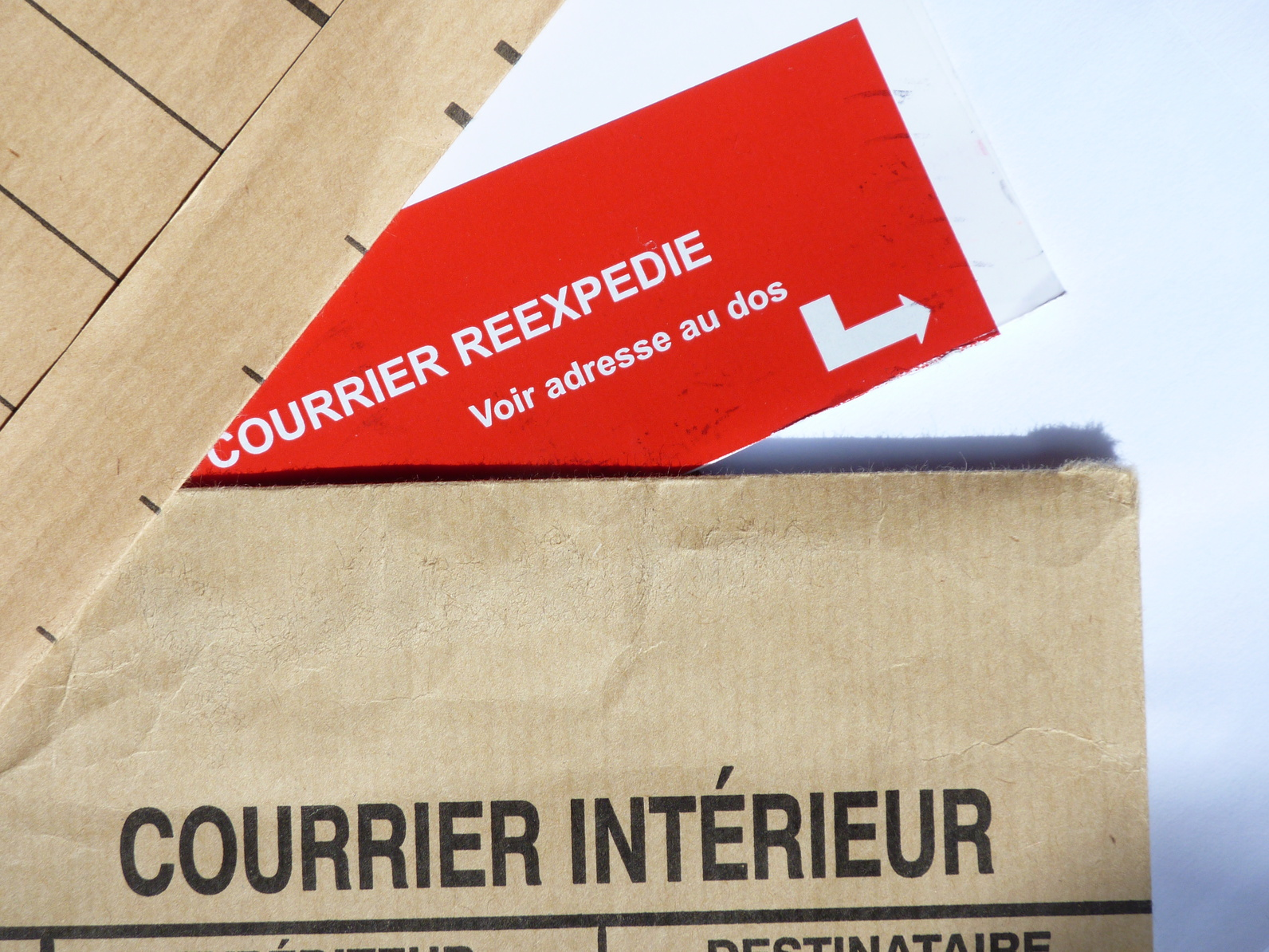 Faire suivre son courrier for Reexpedition du courrier temporaire