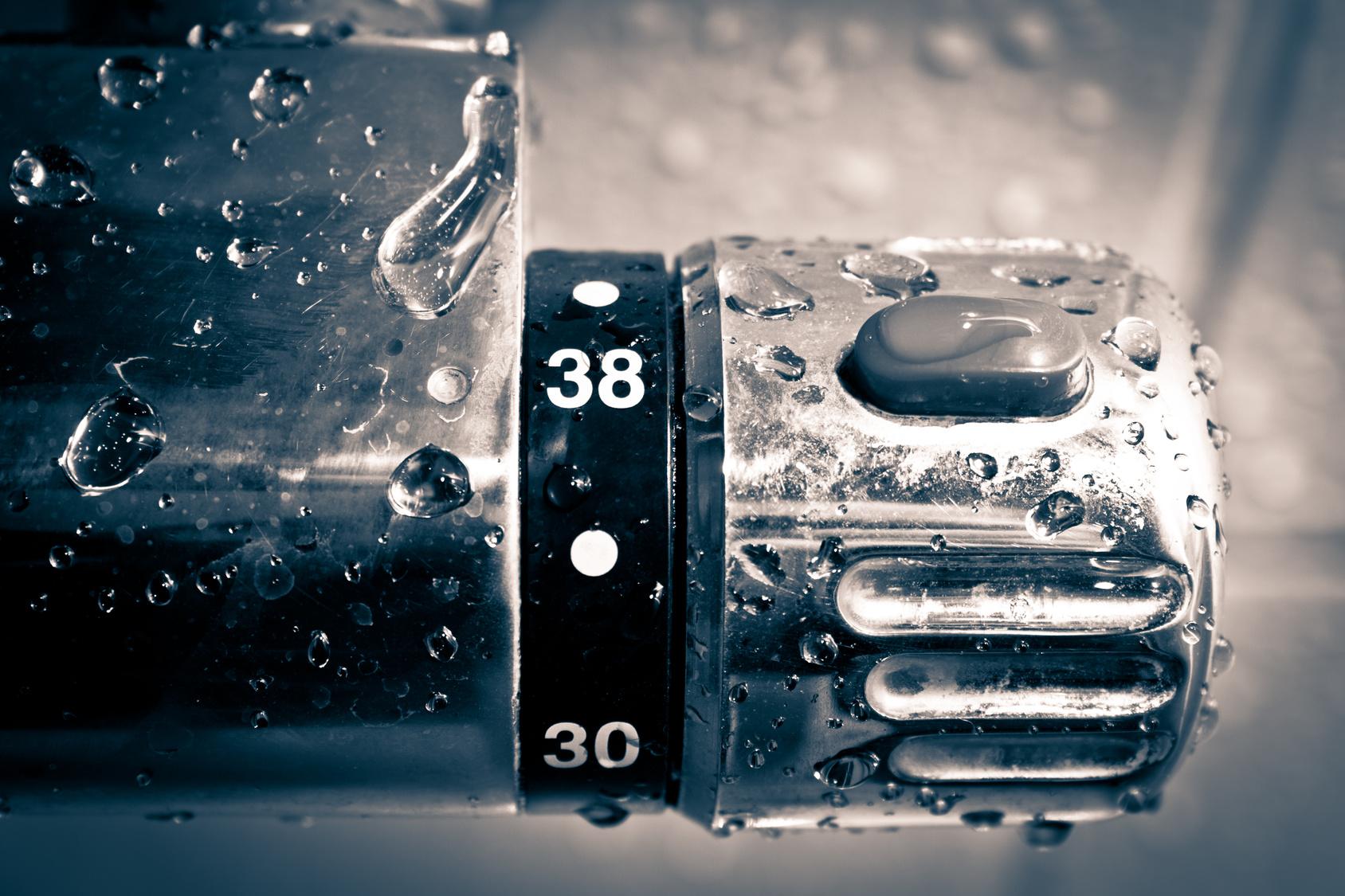 Se laver en conomisant l 39 eau - Comment regler robinet thermostatique ...