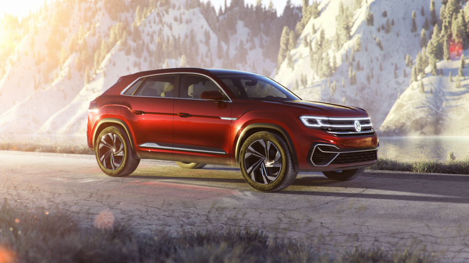 volkswagen atlas cross sport comment redynamiser la voiture familiale. Black Bedroom Furniture Sets. Home Design Ideas