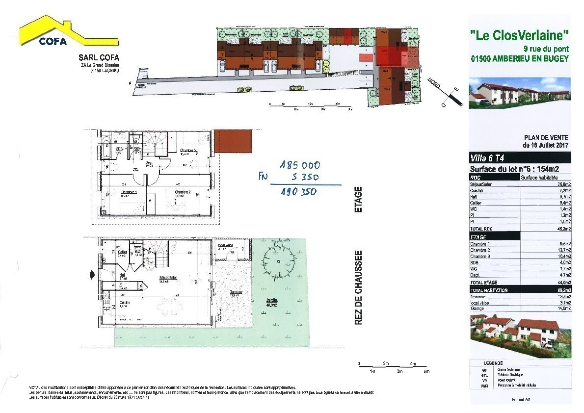 Annonce vente maison amb rieu en bugey 01500 93 m 196 000 9926757654 - Exoneration frais de notaire ...