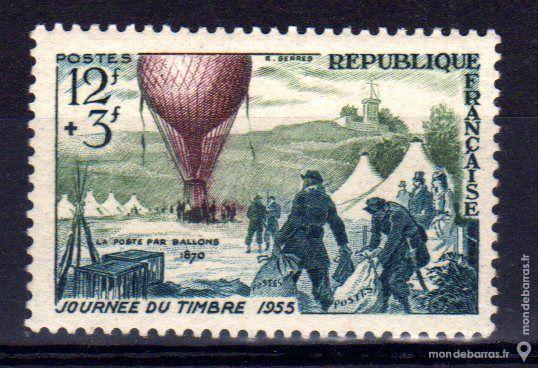 N° 1018 Timbre France NEUF ** An 1955 2 La Seyne-sur-Mer (83)