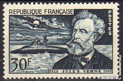 N° 1026 Timbre France NEUF ** An 1955 2 La Seyne-sur-Mer (83)