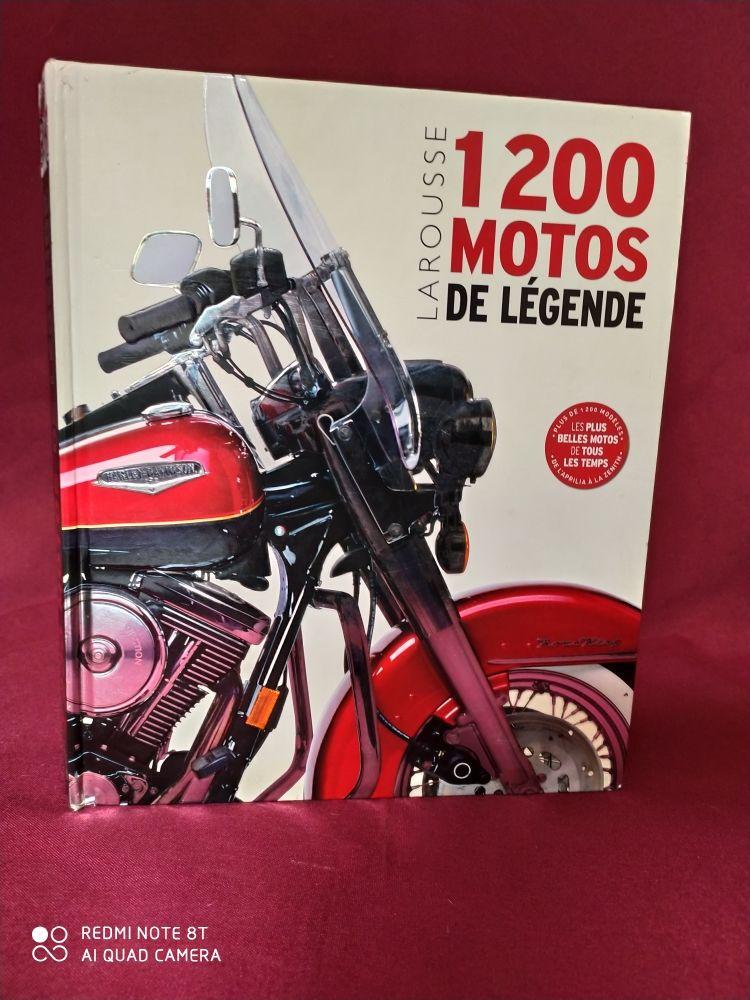 1200 motos de légende édition larousse 15 Villeneuve-la-Guyard (89)