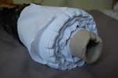 130m de tissu Coton uni blanc - Grande largeur (250m) 450 Brignais (69)