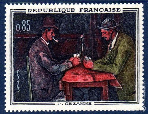 N° 1321 Timbre France NEUF** « TABLEAU » An 1961