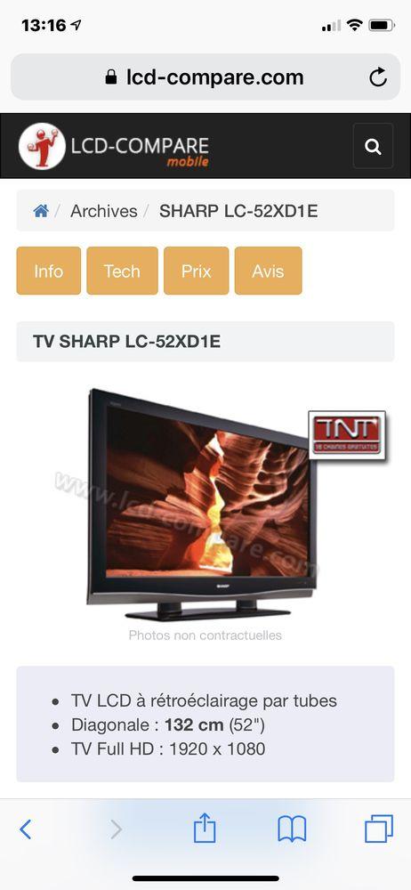 TV LCD 132cm 300 Monnetier-Mornex (74)