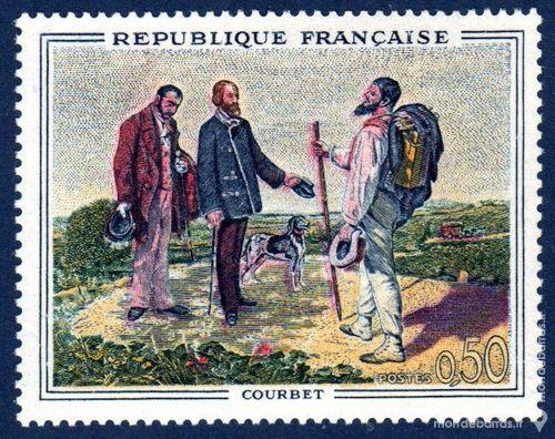N° 1363 Timbre France NEUF**   TABLEAUX   An 1962 0 La Seyne-sur-Mer (83)