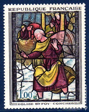 N° 1377 Timbre France NEUF**   TABLEAUX   An 1963 0 La Seyne-sur-Mer (83)