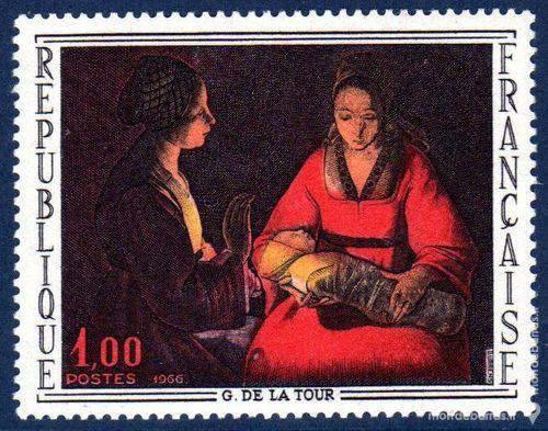 N° 1479 Timbre France NEUF** « TABLEAUX » An 1965 1 La Seyne-sur-Mer (83)
