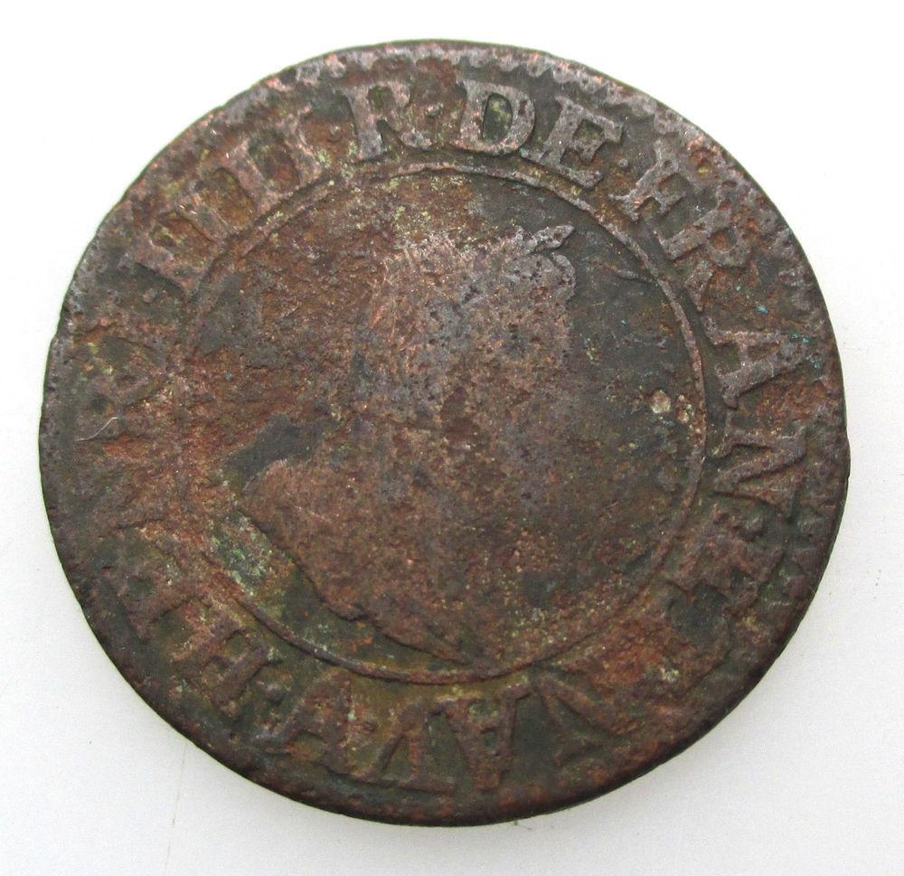 1603 A double tournois Henri IV