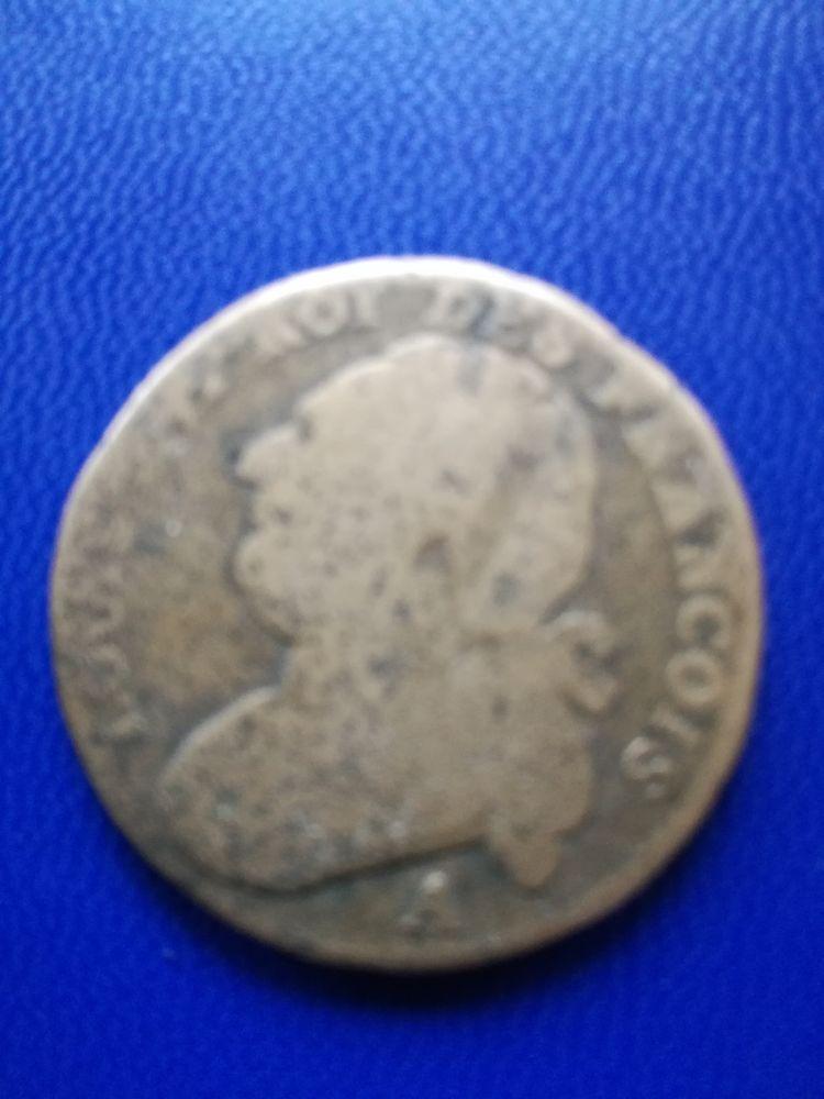 1791 A 12 deniers Louis XVI type Francois 6 Paris 2 (75)
