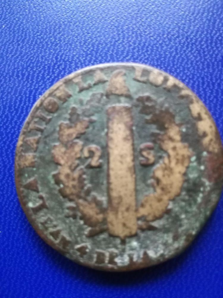 1792 W 2 sols Lille - Louis XVI