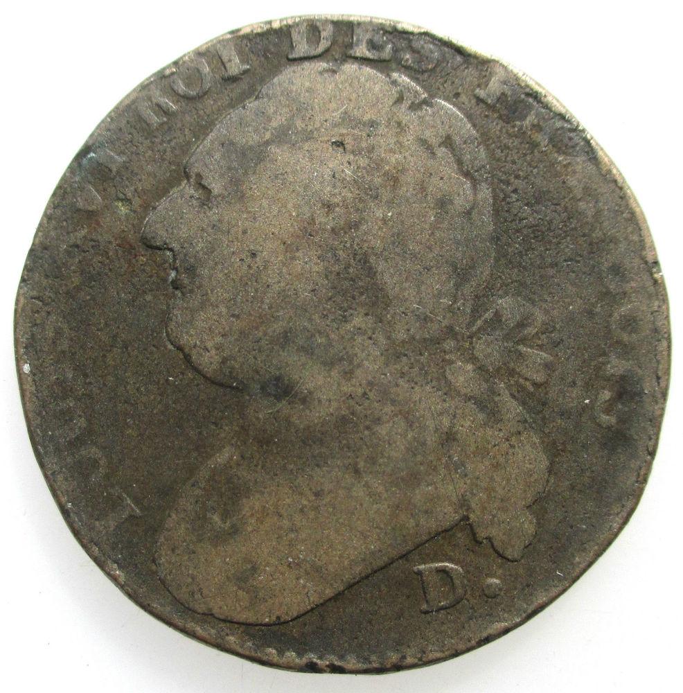 1793 D 12 deniers Lyon