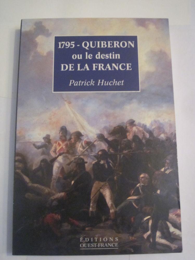 1795 QUIBERON OU LE DESTIN DE LA FRANCE Livres et BD