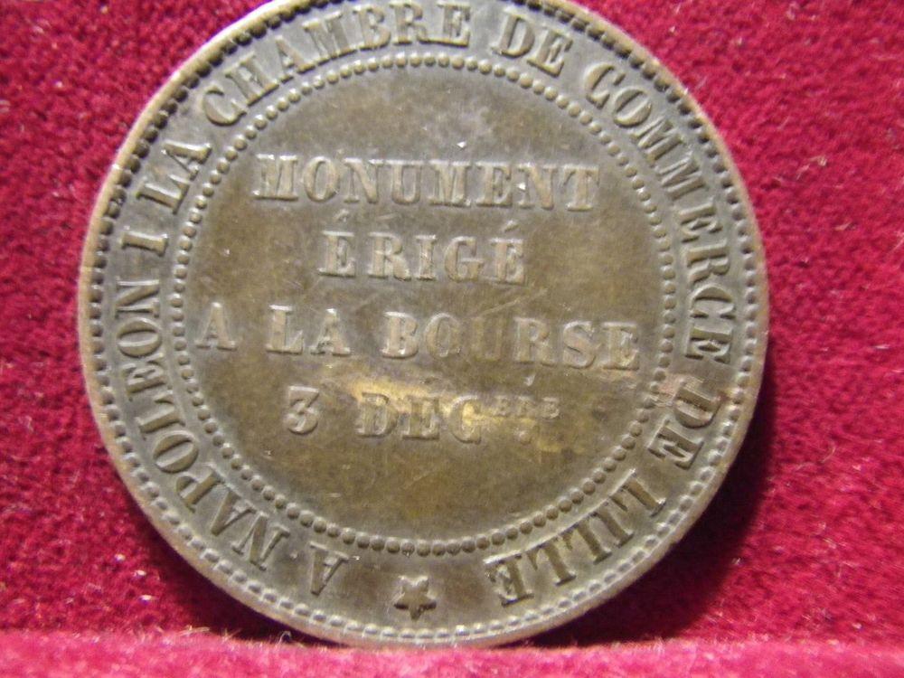 1854 piece 10 centimes  monument Lille  49 Paris 2 (75)