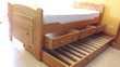 Lit 190x90 4 tiroirs + sommier + matelas Meubles