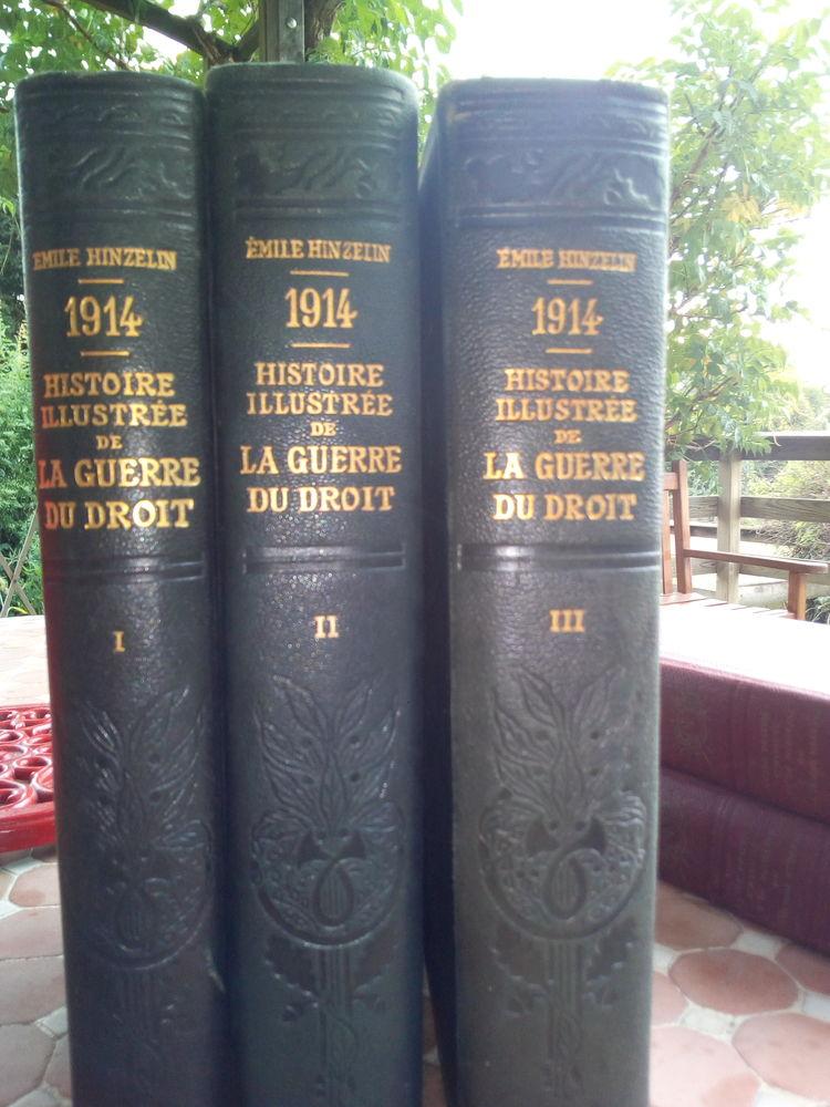 1914 histoire illustré de la guerre du droit EMILE HINZELIN Livres et BD