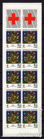 N° 2033 - CARNET CROIX ROUGE 1984 4 La Seyne-sur-Mer (83)