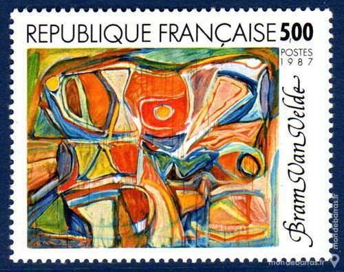 N° 2473 Timbre France NEUF** « TABLEAUX » An 1987